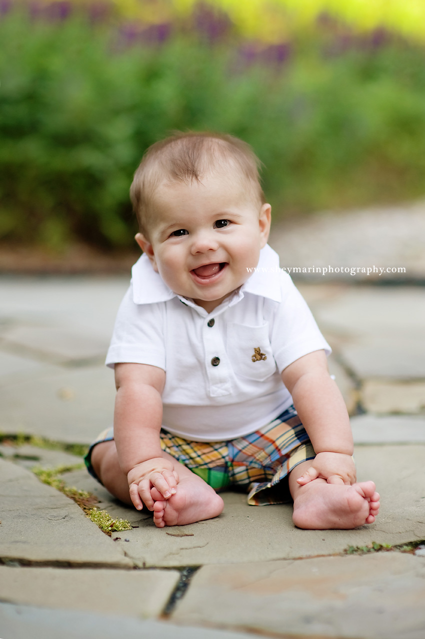 6 month old sweet baby boy * frederick maryland baby and family