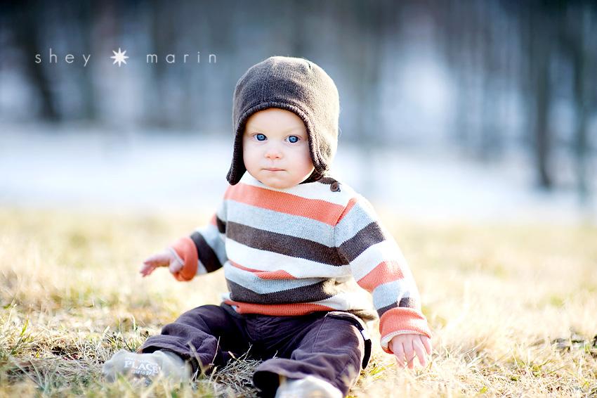 Winter Baby Frederick Md Baby Photographer Washington